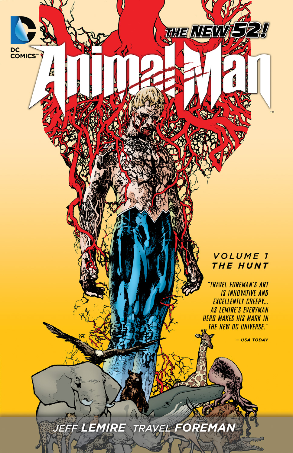 Animal Man: The Hunt (Collected)