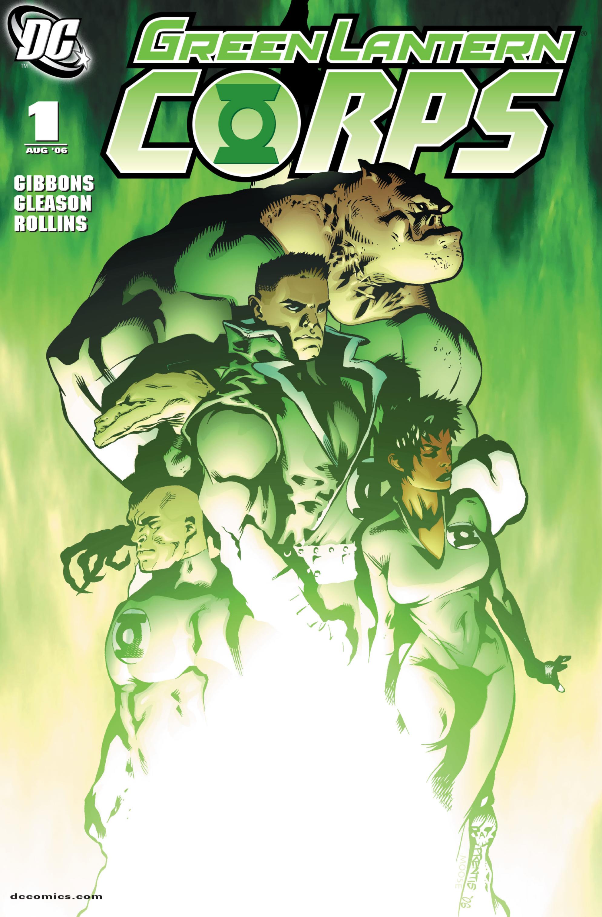 Green Lantern Corps Vol 2