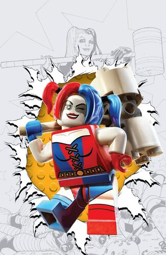 Textless Lego Variant