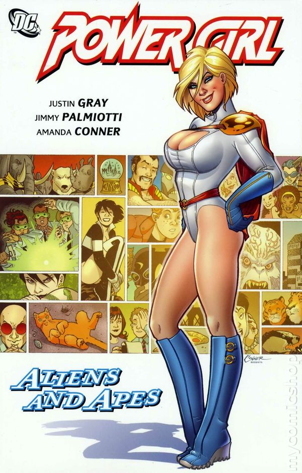 Power Girl: Aliens and Apes (Collected)
