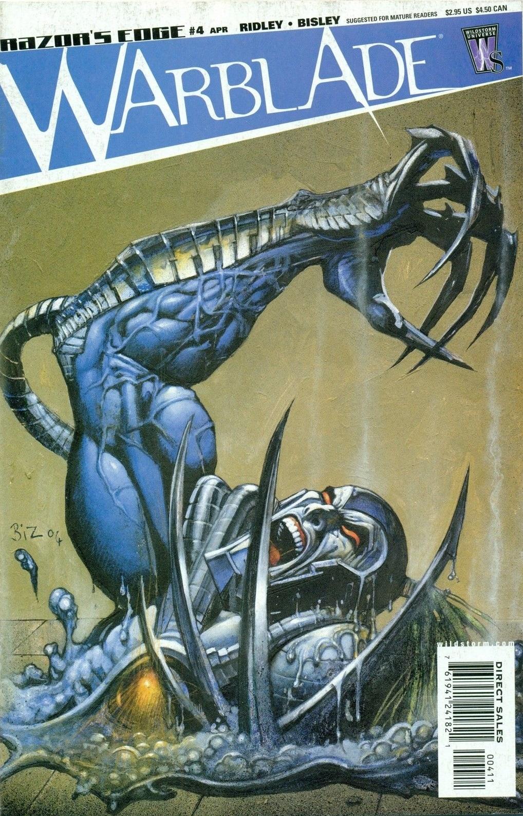 Razor's Edge: Warblade Vol 1 4