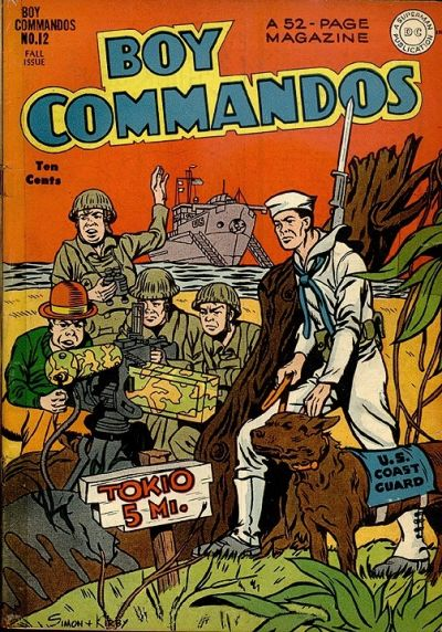 Boy Commandos Vol 1 12
