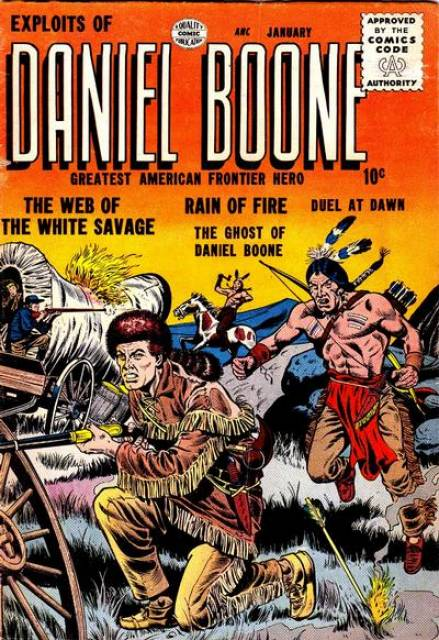 Exploits of Daniel Boone Vol 1 2