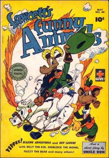 Fawcett's Funny Animals Vol 1 49