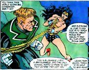 Wonder Woman with Gardner ensnared