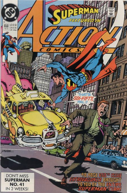 Action Comics Vol 1 650