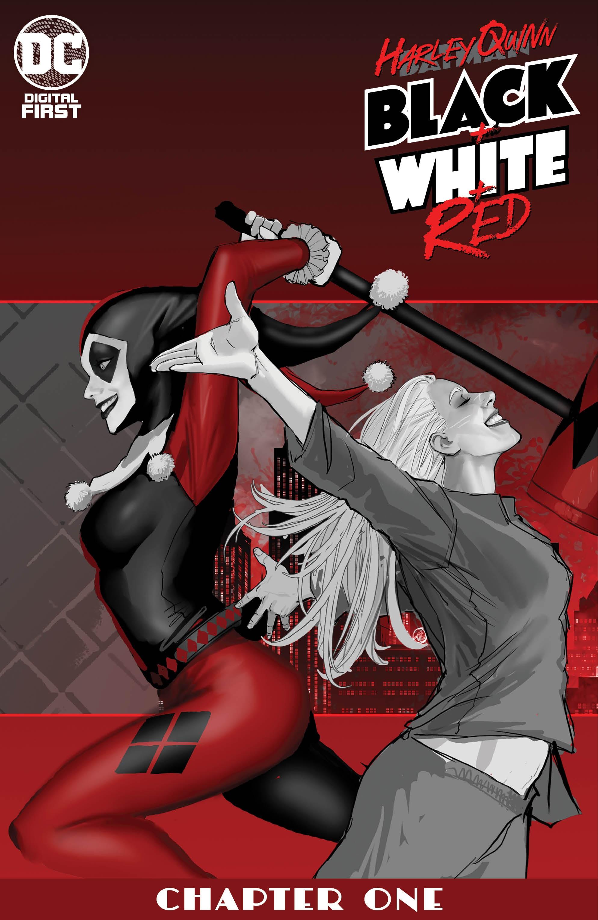 Harley Quinn Black White Red Vol 1 Digital Dc Database Fandom