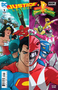 Justice League Power Rangers Vol 1 1