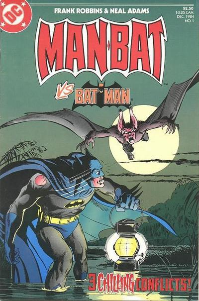 Man-Bat vs. Batman Vol 1 1
