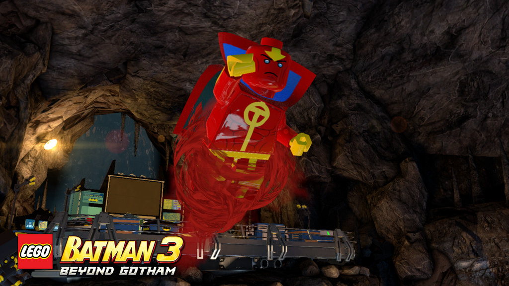 Red Tornado (Lego Batman)