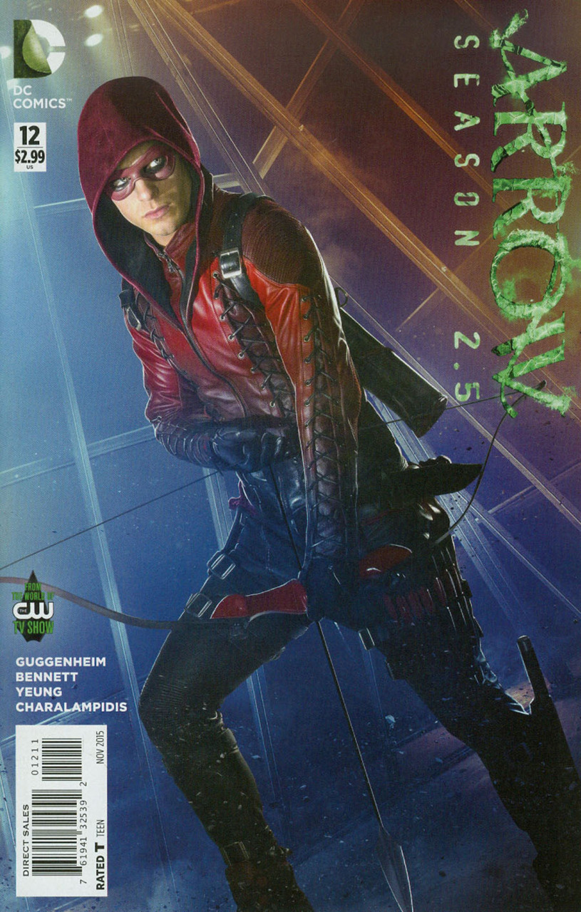 Arrow: Season 2.5 Vol 1 12
