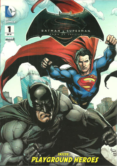 General Mills Presents Batman v Superman: Dawn of Justice Vol 1 1