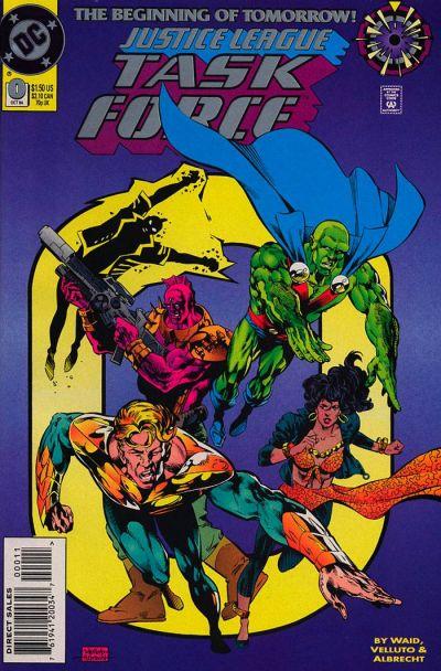 Justice League Task Force Vol 1 0