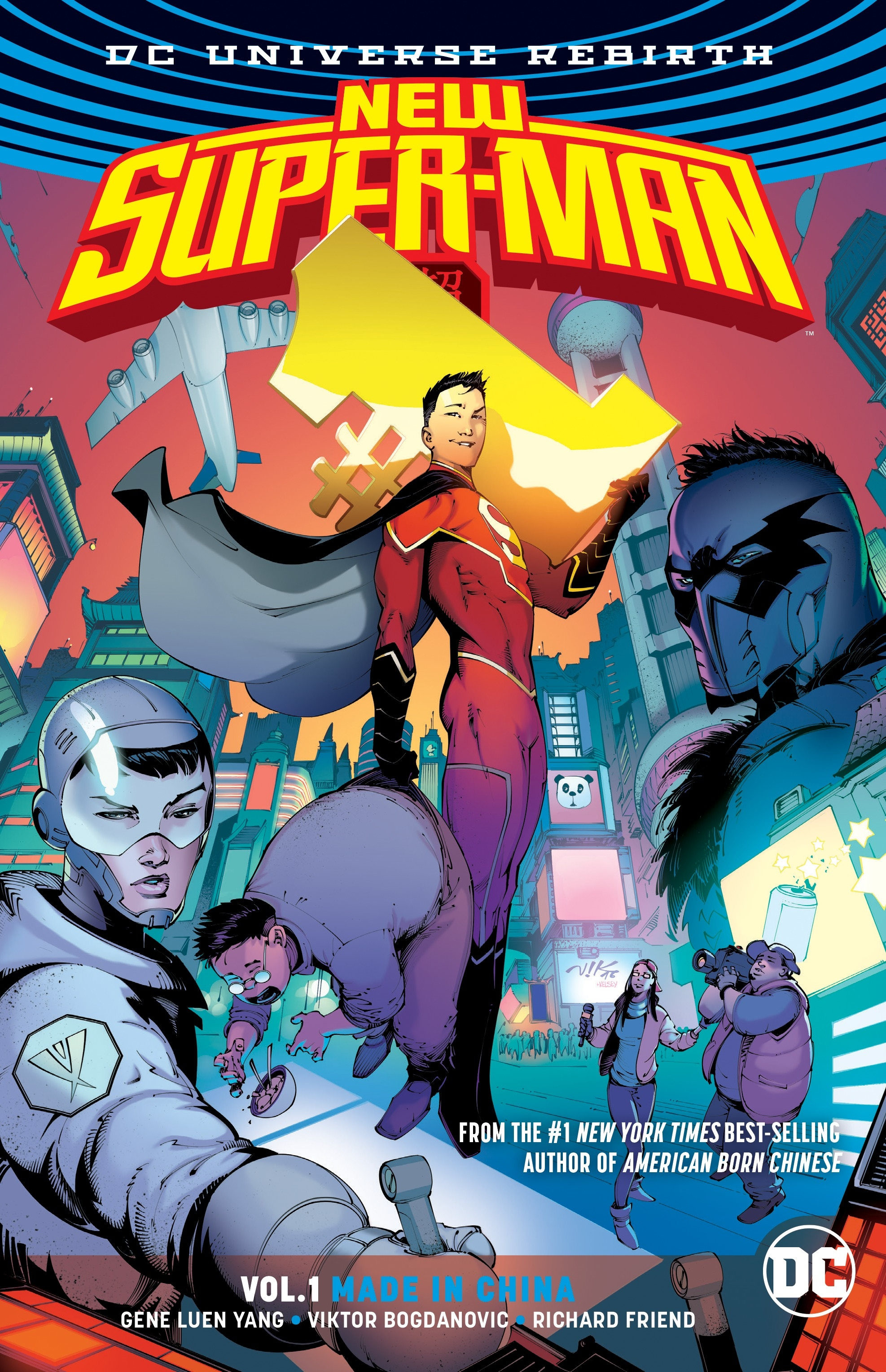 New Super-Man: Made in China (Collected)