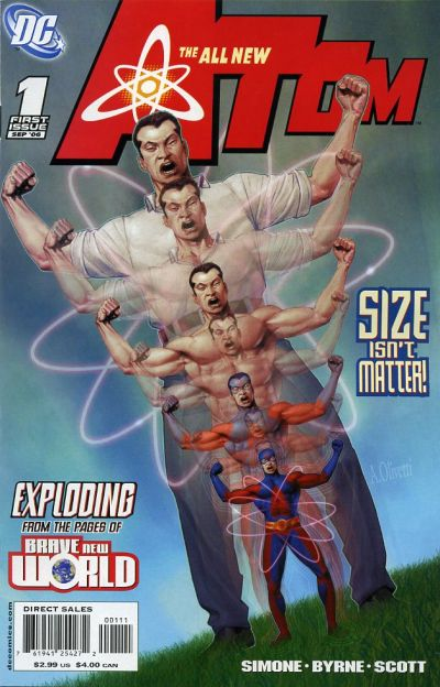 The All-New Atom Vol 1