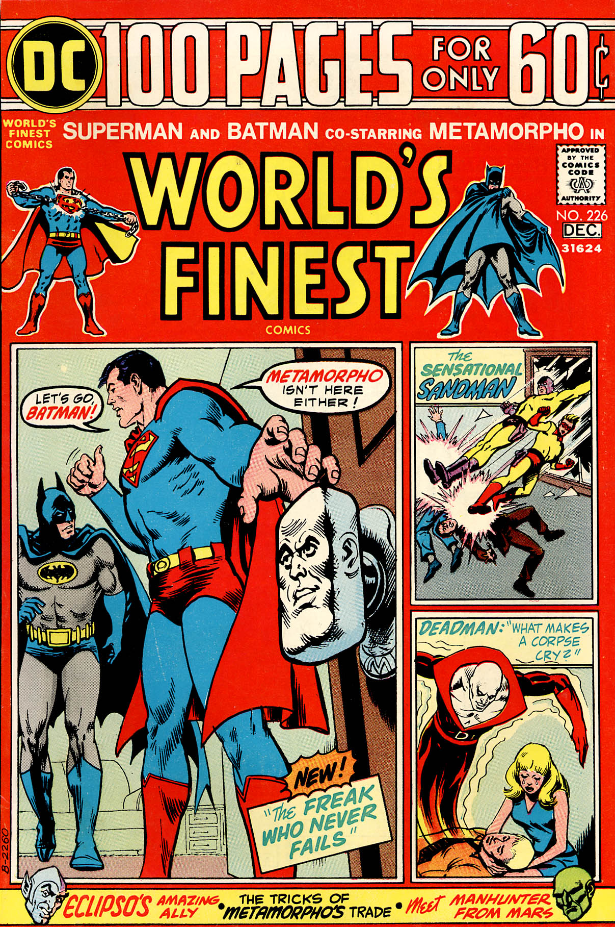 World's Finest Vol 1 226