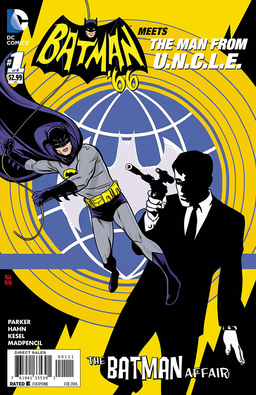 Batman '66 Meets the Man from U.N.C.L.E. Vol 1 1