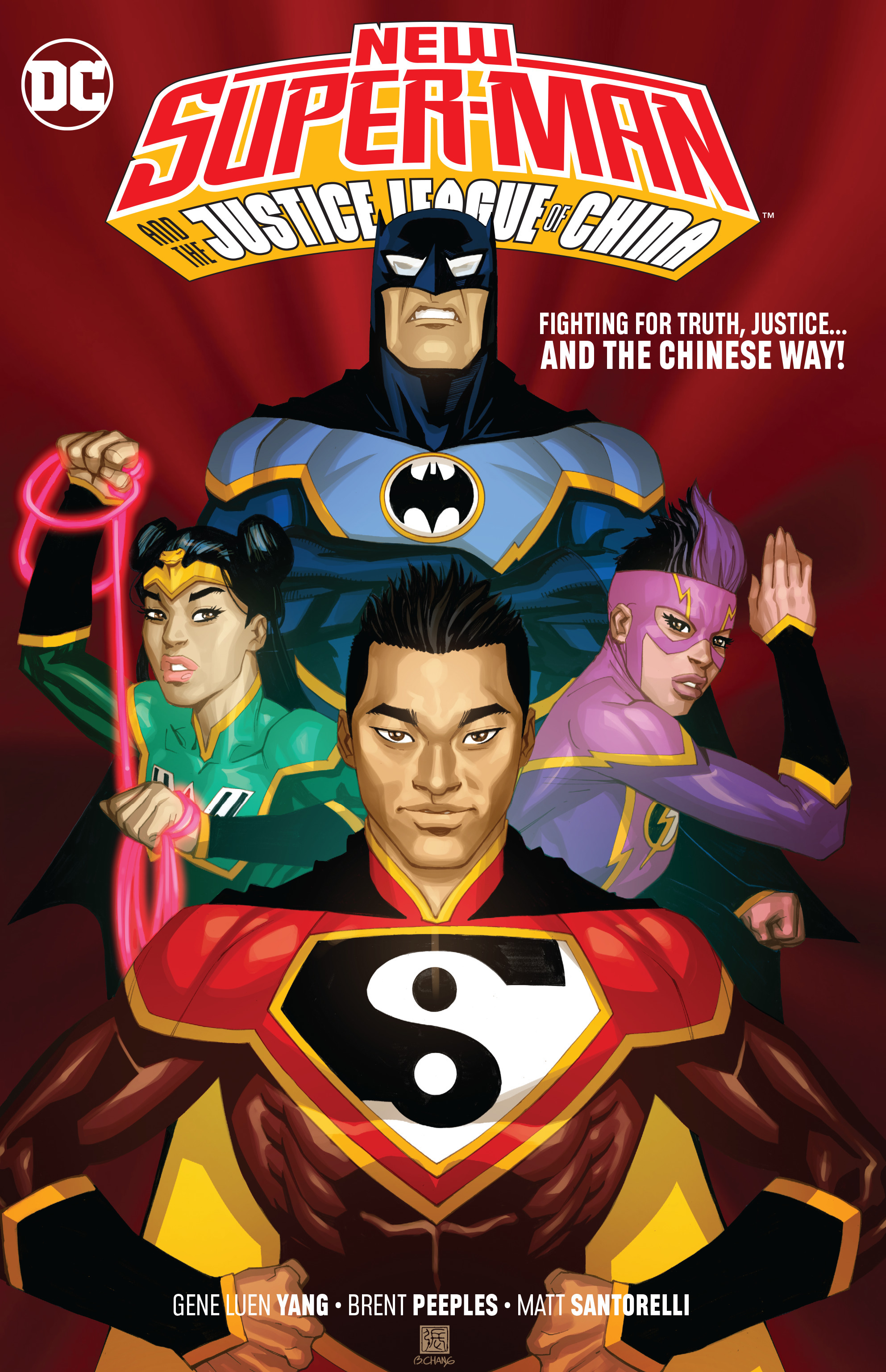 New Super-Man and the Justice League of China (Collected)