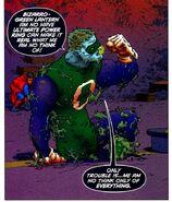 Bizarro Green Lantern All-Star Superman 001