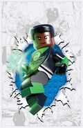 Green Lantern Corps Vol 3 36 Textless Lego Variant