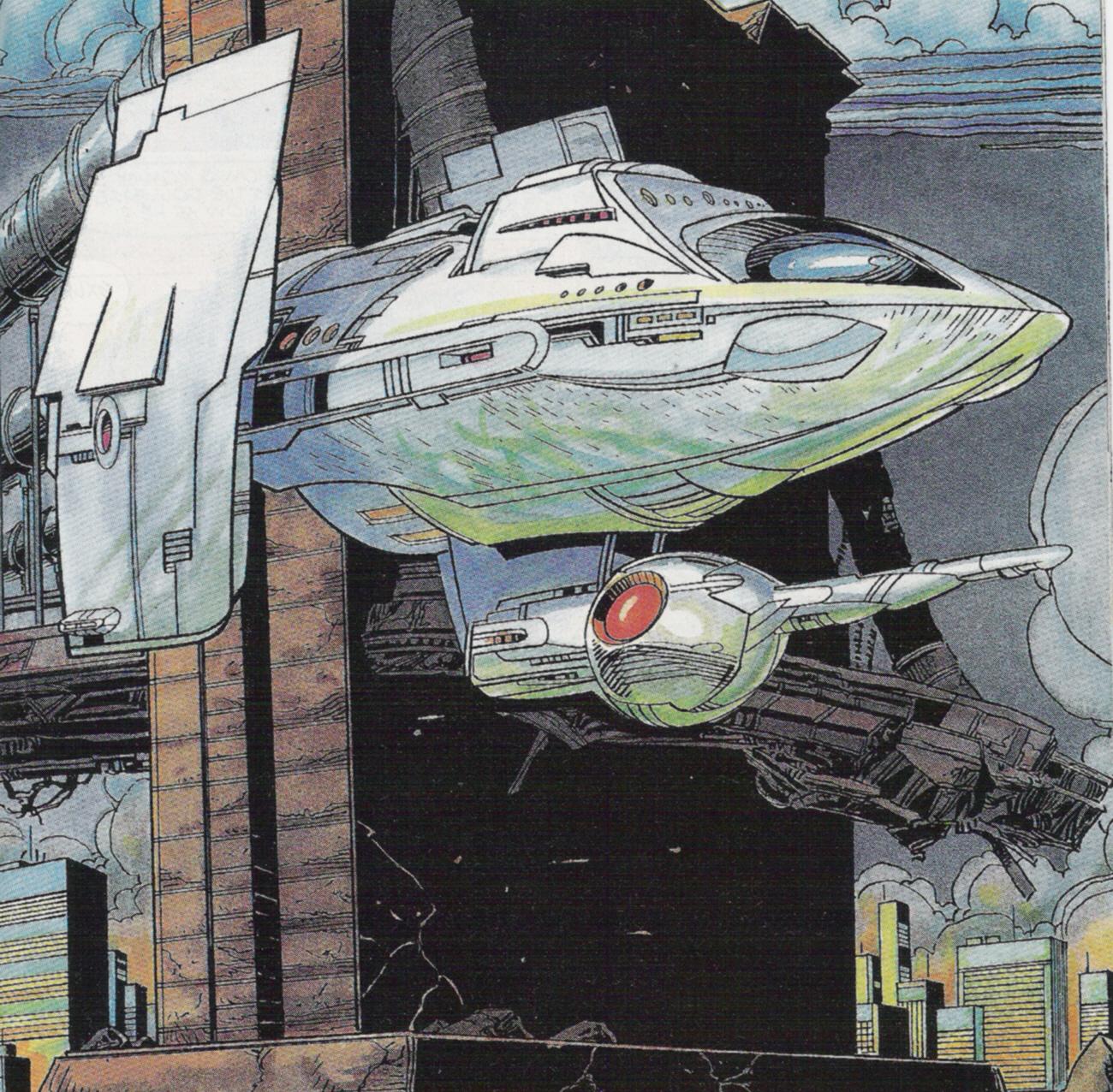 Icon's Starship