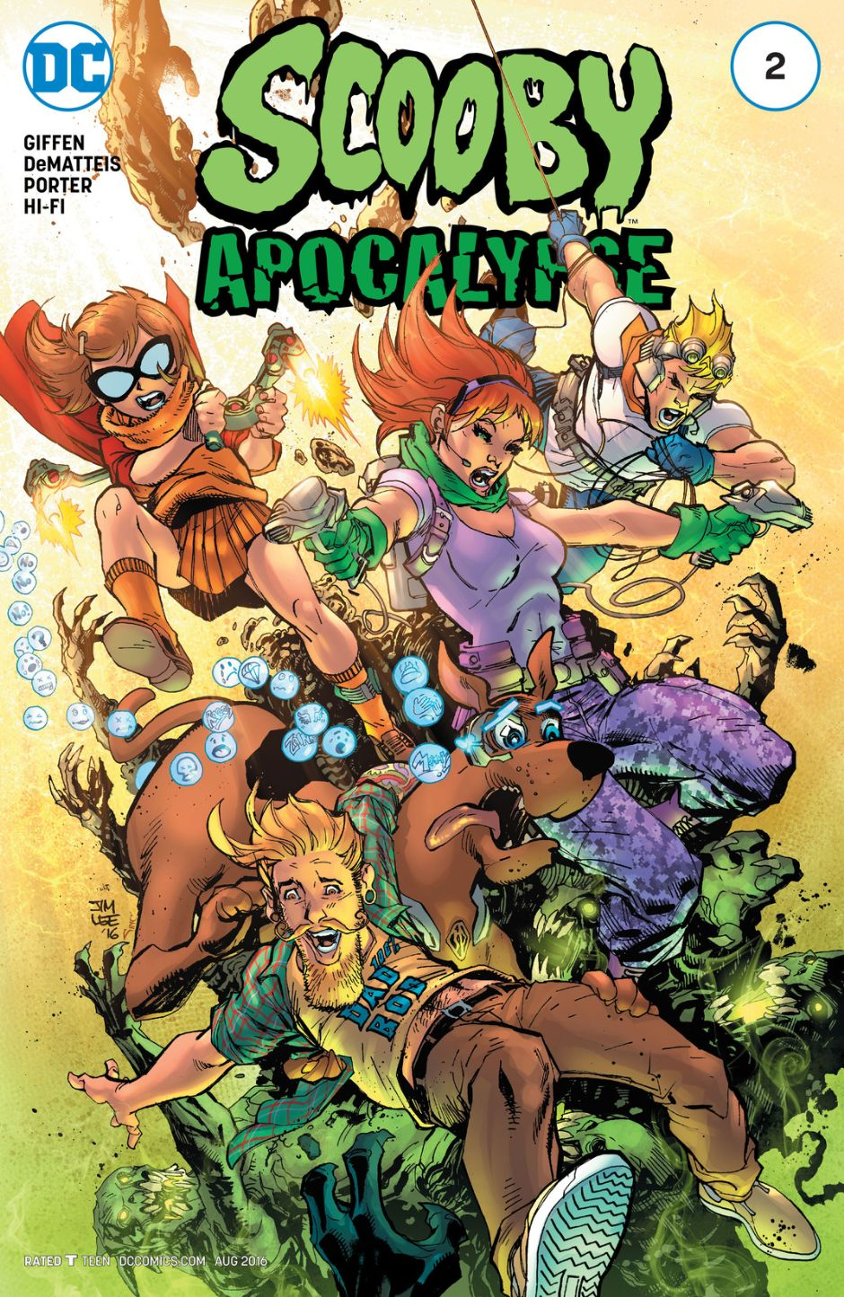 Scooby Apocalypse Vol 1 2