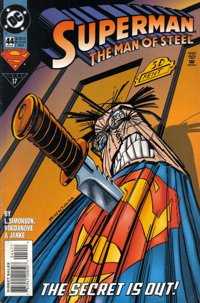 Superman: The Man of Steel Vol 1 44