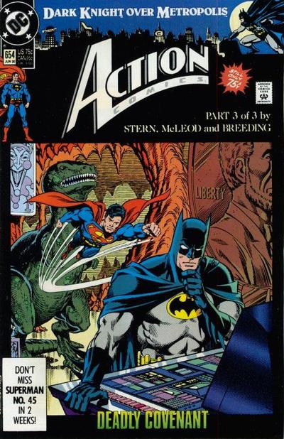 Action Comics Vol 1 654