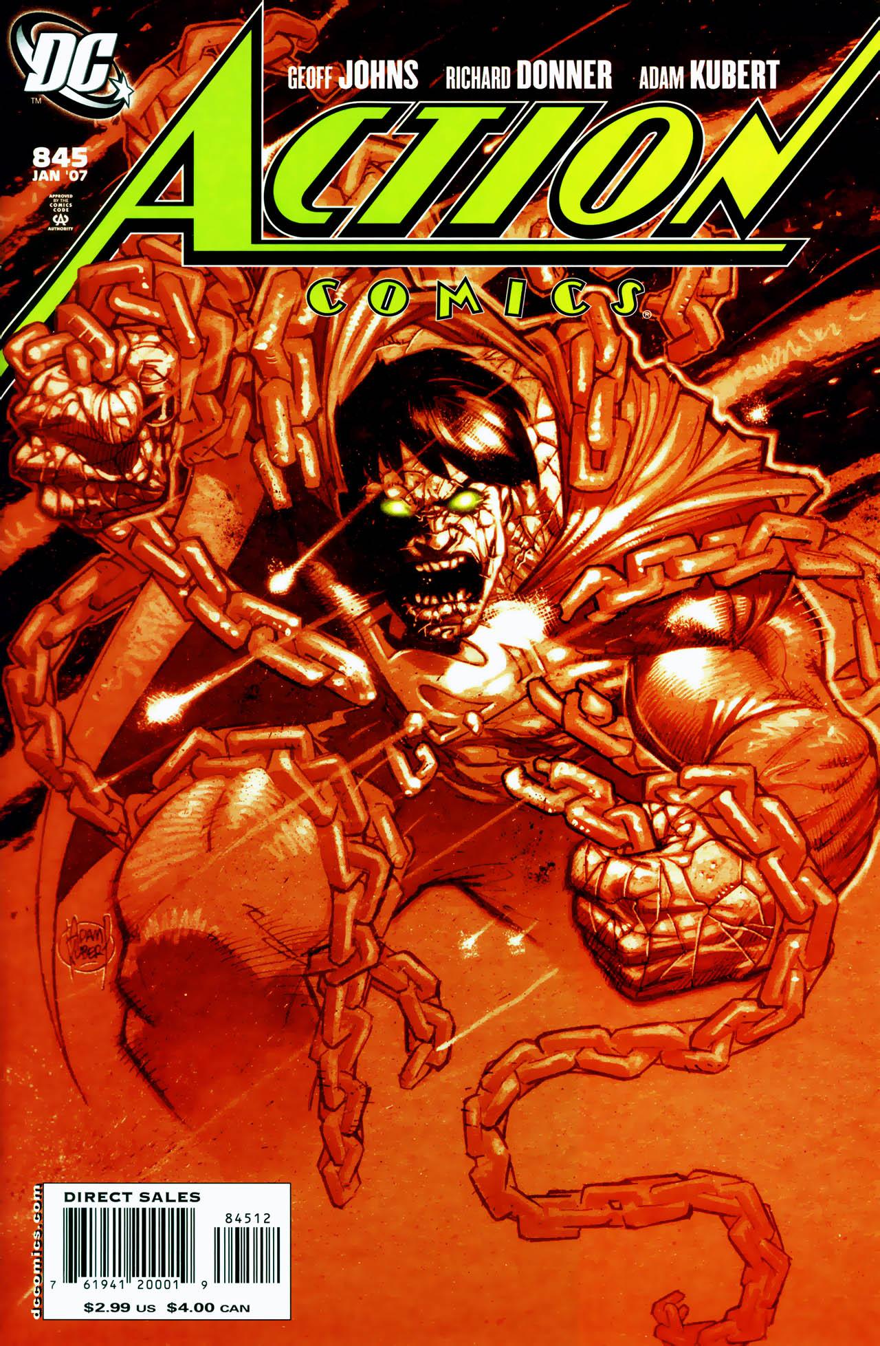 Action Comics Vol 1 845 Second Printing Variant.jpg