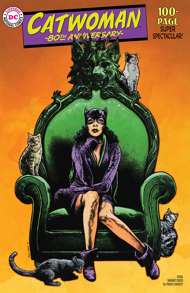 DC/'s Catwoman 80th Anniversary Issue NM Campbell Sanders
