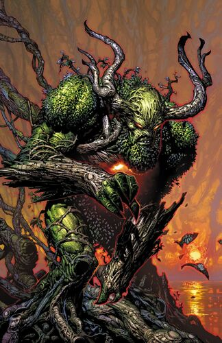 Textless Swamp Thing Variant