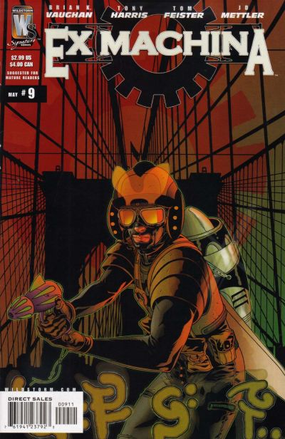 Ex Machina Vol 1 9