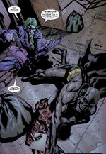Joker shoots Black Mask