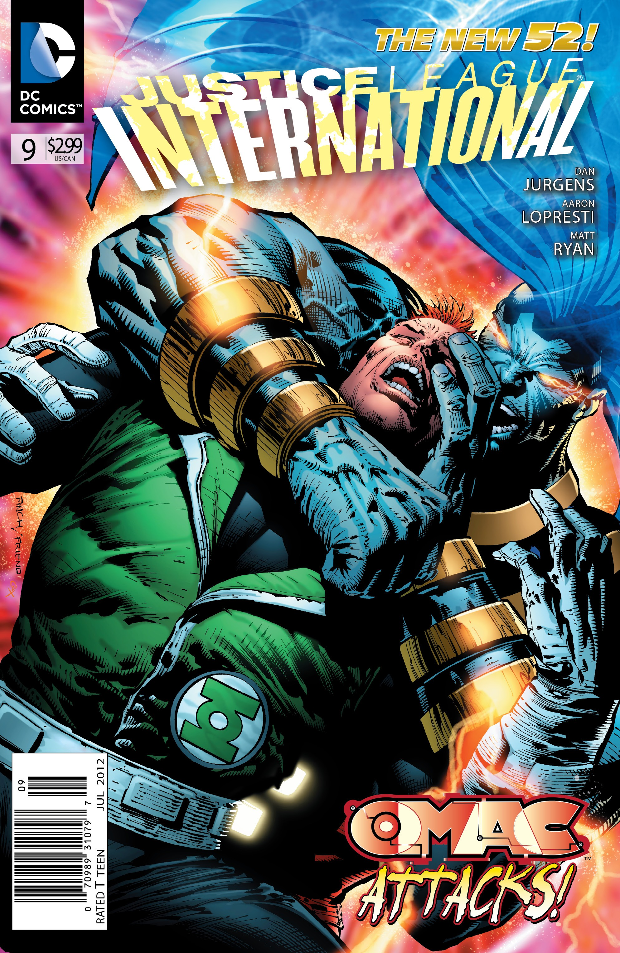 Justice League International Vol 3 9