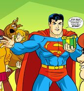 Kal-El Scooby-Doo Team-Up 001