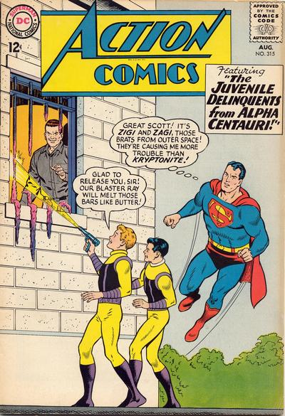 Action Comics Vol 1 315