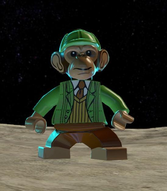 Bobo T. Chimpanzee (Lego Batman)