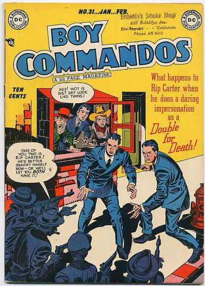 Boy Commandos Vol 1 31