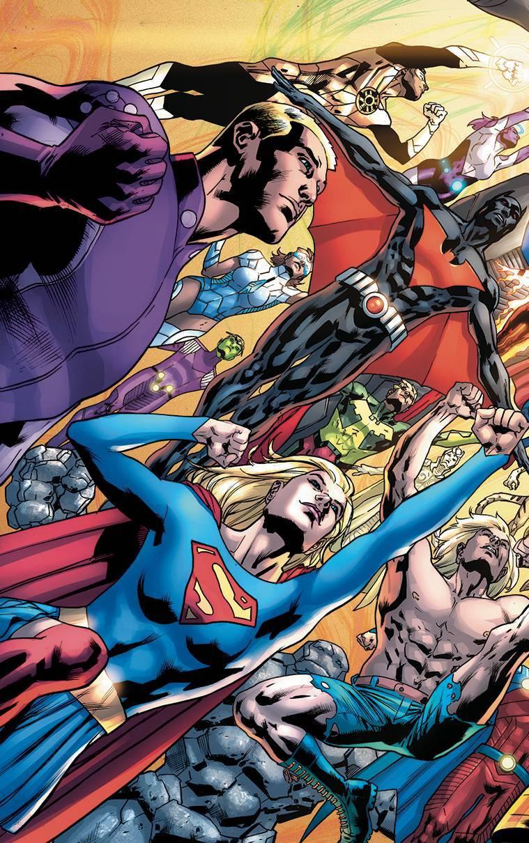 Legion of Super-Heroes Millennium Vol 1 1 Textless Variant.jpg