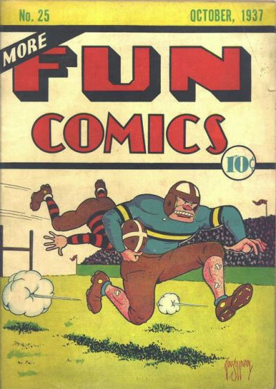 More Fun Comics Vol 1 25