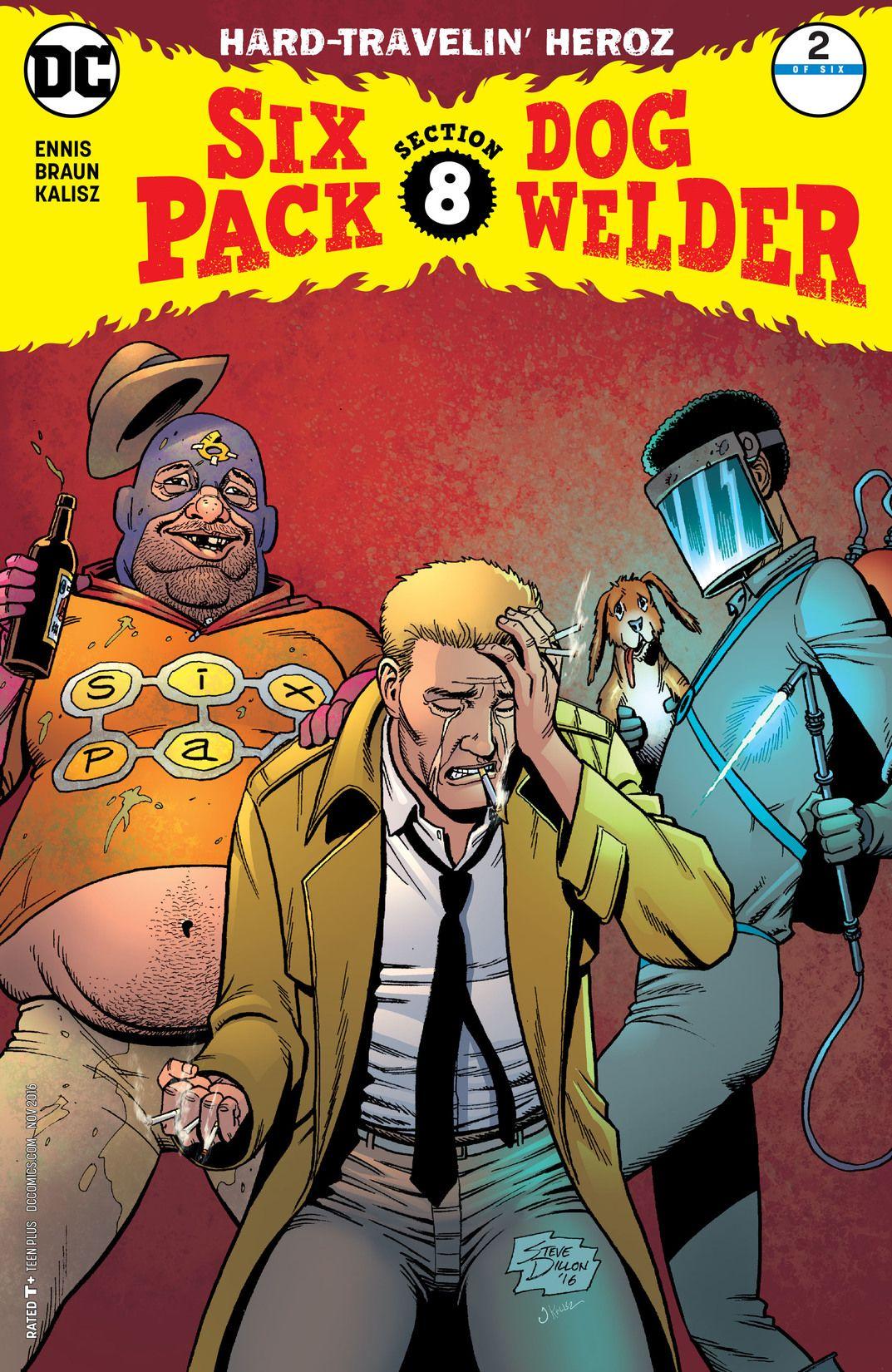 Sixpack and Dogwelder: Hard-Travelin' Heroz Vol 1 2