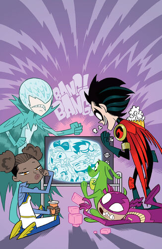Textless Teen Titans Go! Variant