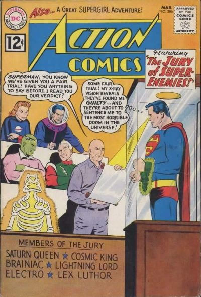 Action Comics Vol 1 286