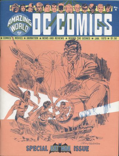 Amazing World of DC Comics Vol 1 4