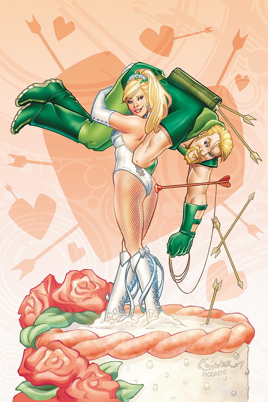 Green Arrow and Black Canary Wedding Special Vol 1 1