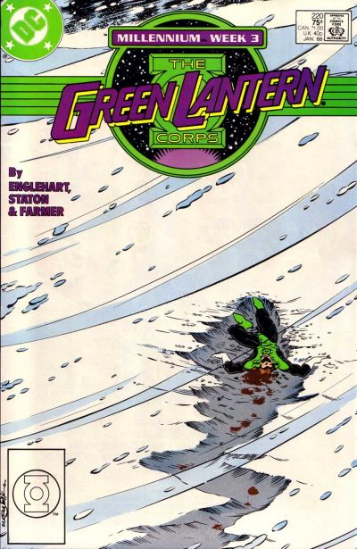 Green Lantern Corps Vol 1 220