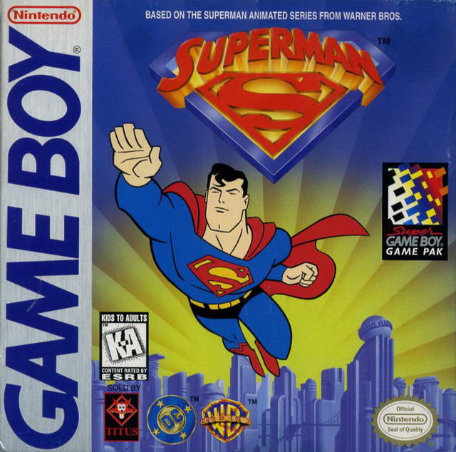 Superman (Game Boy)