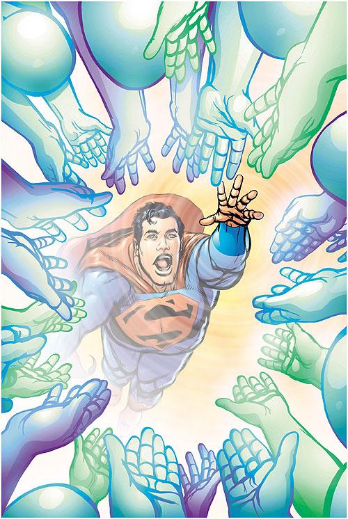 Superman Man of Steel Vol 1 126 Textless.jpg