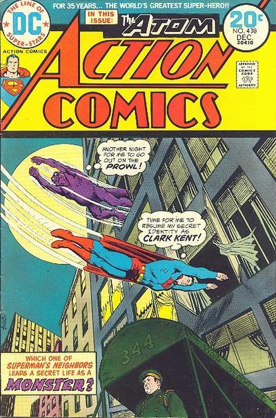 Action Comics Vol 1 430