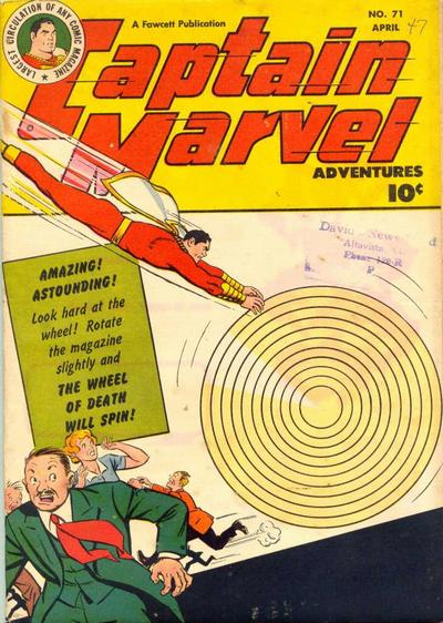 Captain Marvel Adventures Vol 1 71